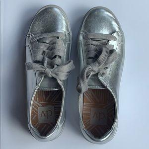 Platinum Silver dolce vita shoes